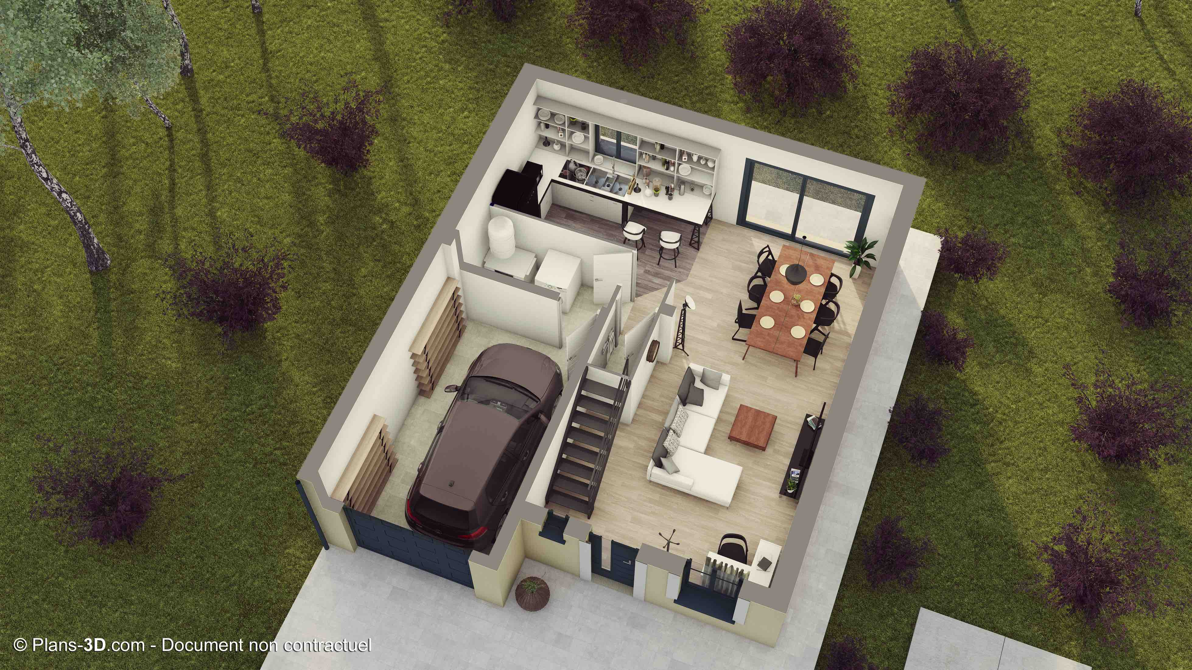 Plan de maison First RDC