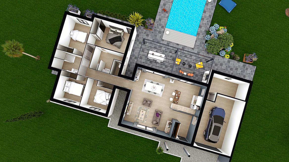 Plans De Maisons A Construire Maison Laure