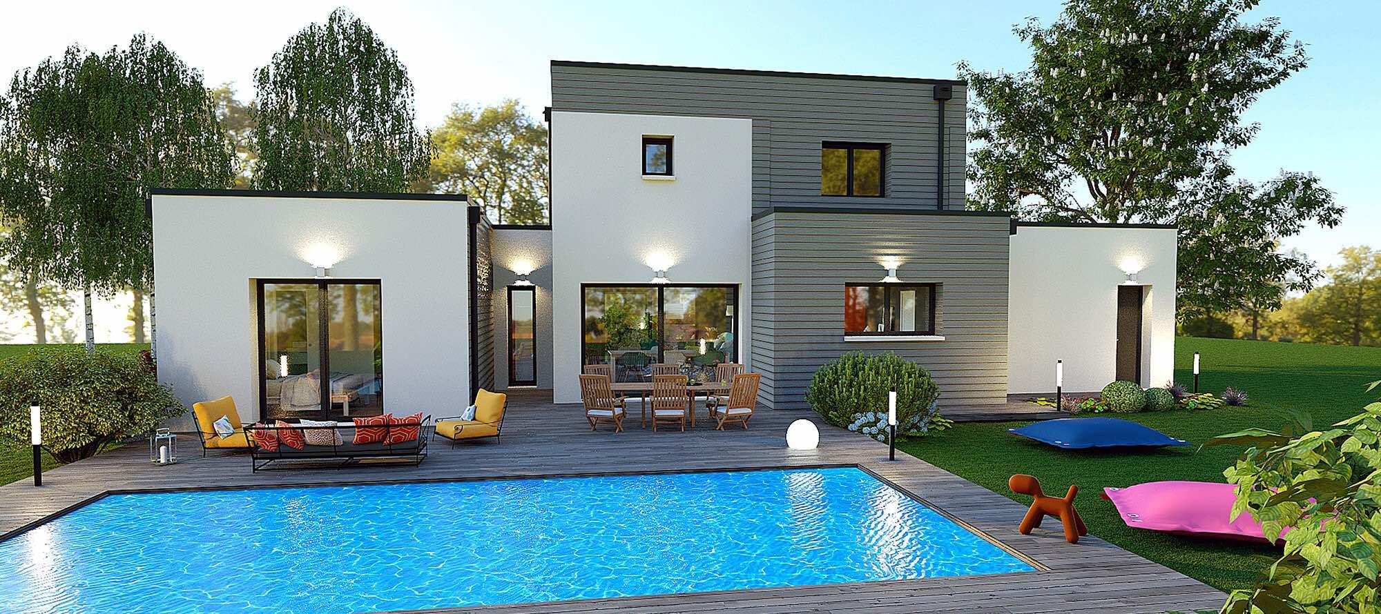 Constructeur Maison En Bois Limoges maison laure / constructeur de maisons individuelles