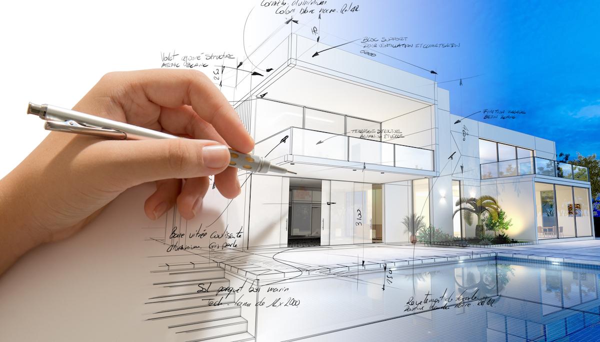 Maison Contemporaine Dessinateur Plans Permis 14