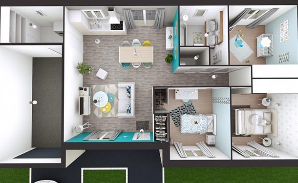 Maison Moderne Celia 2 Maison Laure
